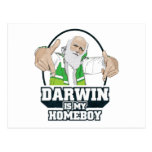 Darwin Is My Homeboy (Full Colour) Post Card