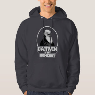 Darwin Is My Homeboy Hoody