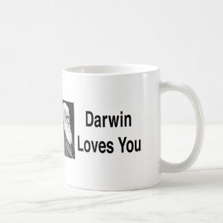 Darwin Loves You 2 Coffee Mugs