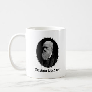 Darwin loves you - Team Evolution - - Pro-Science  Coffee Mug