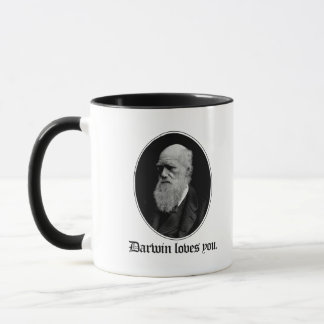 Darwin loves you - Team Evolution - - Pro-Science  Mug