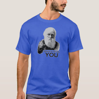 Darwin Needs You (dark colors) T-Shirt