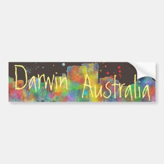 DARWIN, NT SKYLINE - Bumper Sticker