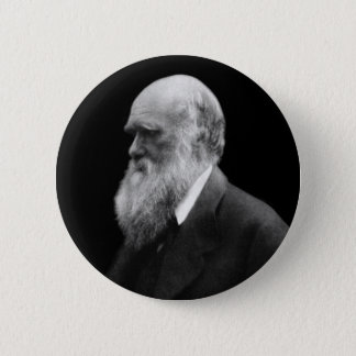 Darwin Portrait Button
