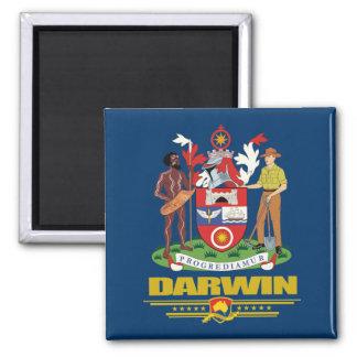 Darwin Square Magnet