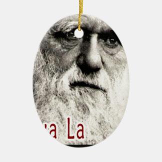 Darwin - Viva La Evolution! Ceramic Oval Decoration