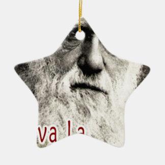 Darwin - Viva La Evolution! Ceramic Star Decoration