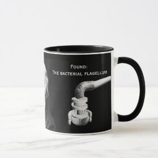 Darwin's Concession and the Bacterial Flagellum Mug