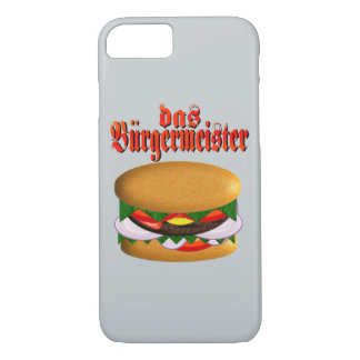 das Burgermeister iPhone 7 Case