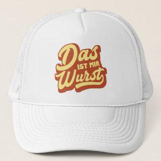 Das Ist Mir Wurst, German Saying Trucker Hat