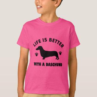 daschund dog design T-Shirt