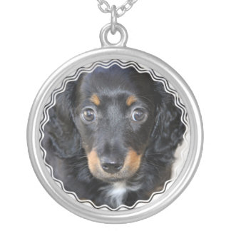 Daschund Puppy Dog Necklace