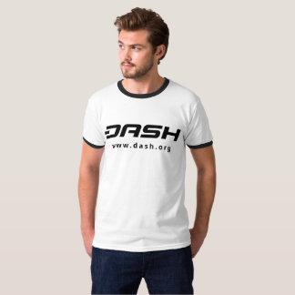 DASH Mens Ringer Black T-Shirt