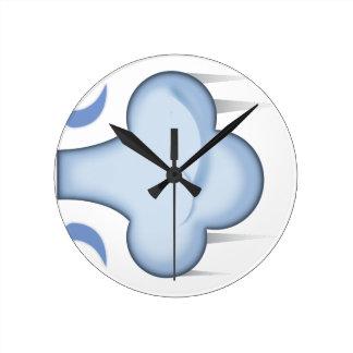 Dash Symbol Emoji Wallclock