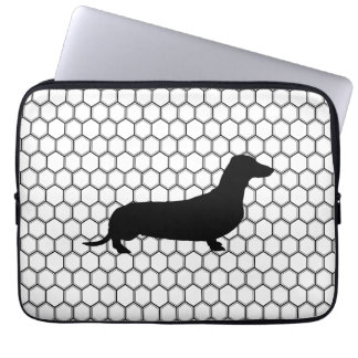 Dashing Dachshund Laptop Sleeve