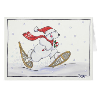 Dashing Through the Snow! Card