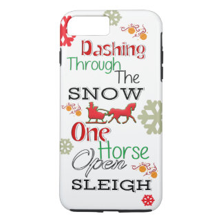 Dashing Through The Snow iPhone Case