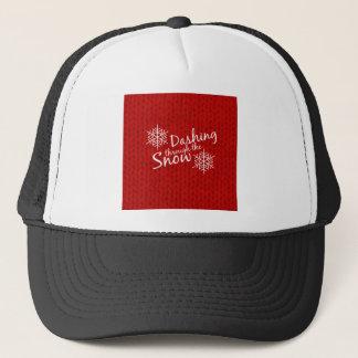 Dashing Through the Snow Trucker Hat