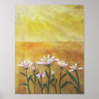 Dasies Under Sunshine Poster