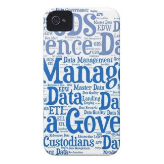 Data Management Cloud.jpg iPhone 4 Case-Mate Cases