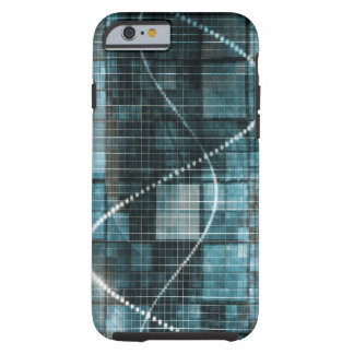 Data Management Platform or DMP Technology Concept Tough iPhone 6 Case