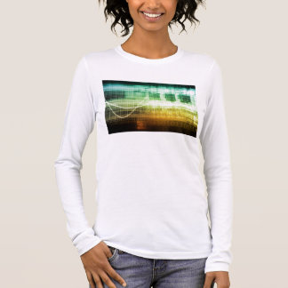 Data Protection and Internet Security Scanning Long Sleeve T-Shirt
