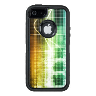 Data Protection and Internet Security Scanning OtterBox Defender iPhone Case