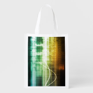 Data Protection and Internet Security Scanning Reusable Grocery Bag