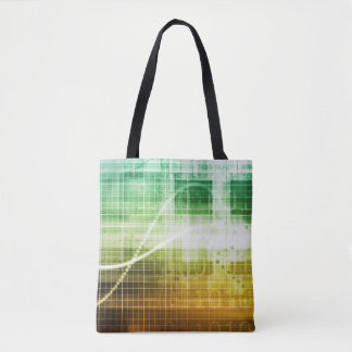 Data Protection and Internet Security Scanning Tote Bag