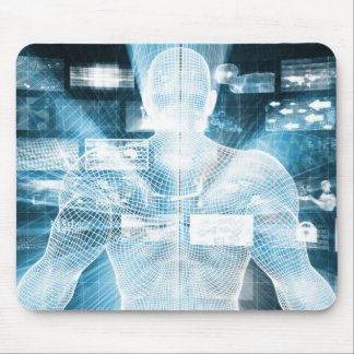 Data Protection and System Integrity as a Concept Mouse Pad
