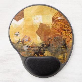Data Pulse Abstract Art Mousepad