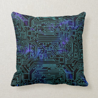 Data Universe Throw Pillow