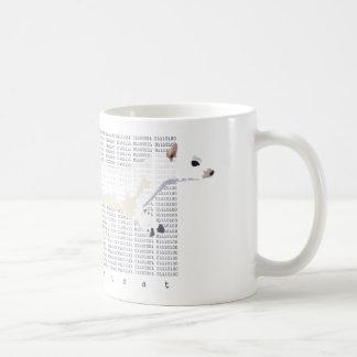Datastoat Basic White Mug