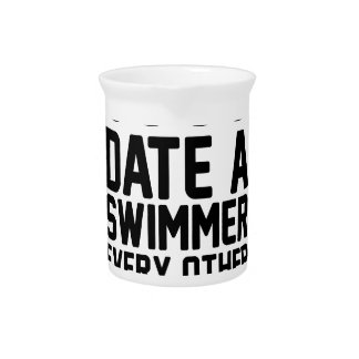 Date a Swimmer Pitcher