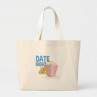 Date Night Large Tote Bag