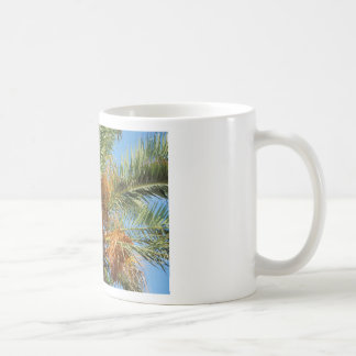 Date palm coffee mug