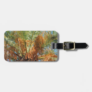 Date palm luggage tag