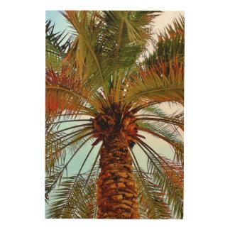 Date Tree Wood Print