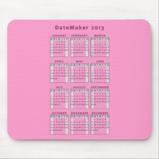 Datemaker 2013 mouse pads