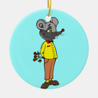 Dating Mouse Ornament