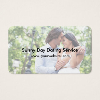 Dating Service Business Card