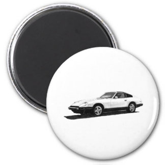 Datsun/Nissan 280ZX Illustration Magnet