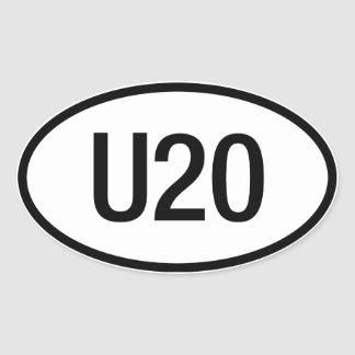 Datsun U20 engine sticker