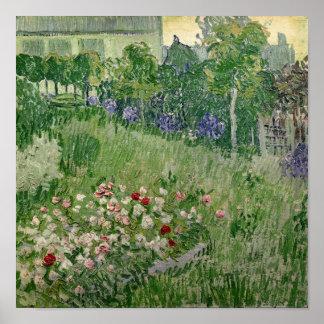 Daubigny's garden, 1890 poster