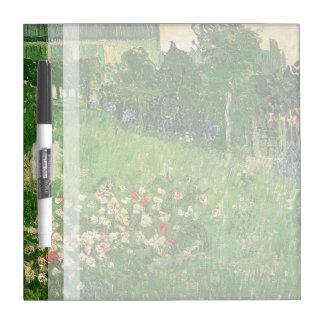Daubigny's Garden by Van Gogh Dry Erase White Board
