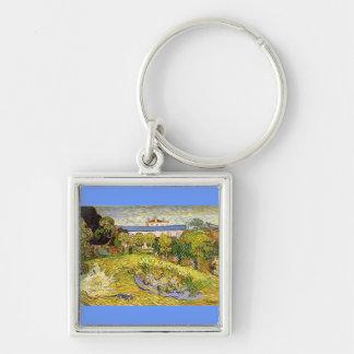 Daubigny's Garden by Vincent Van Gogh Key Ring
