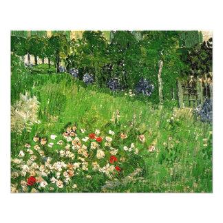 Daubigny's Garden, Vincent Van Gogh. beautiful Personalized Flyer