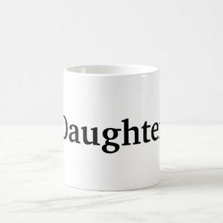 Daughter Basic White Mug