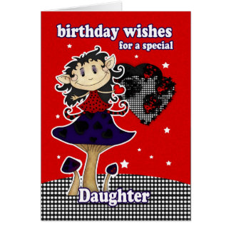 daughter birthday wishes greeting card