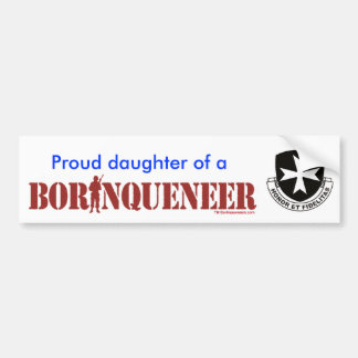 Daughter - Bumper Sticker